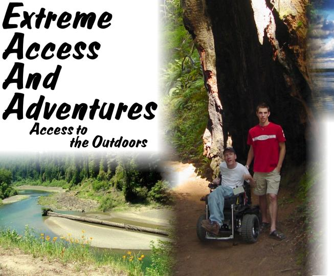 This is the home page of Extreme Access And Adventures